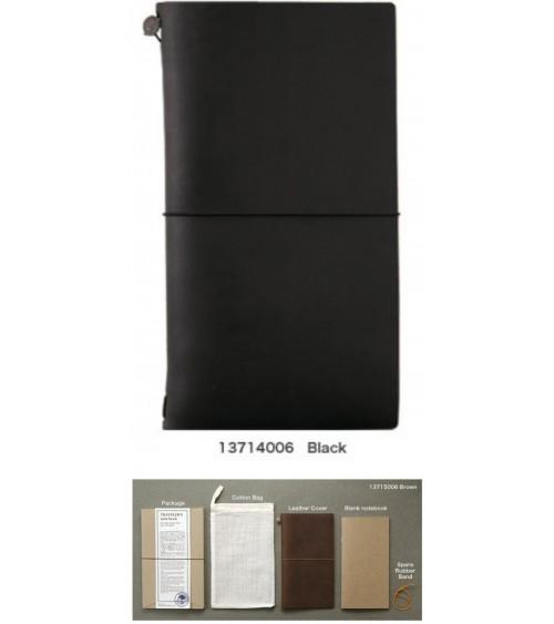 Midori - Traveler's Notebook - Notebook Black