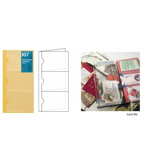 Midori - Traveler's Notebook - 007. Card File