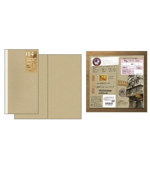 Midori - Traveler's Notebook - 014. Kraft Paper Notebook Refill