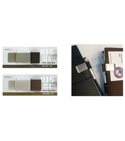 Midori - Traveler's Notebook - 016. Pen Holder (M) Brown
