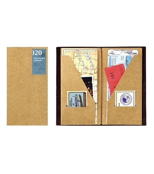 Midori - Traveler's Notebook - 020. Kraft File