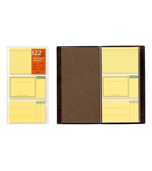 Midori - Traveler's Notebook - 022. Sticky Notes