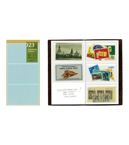Midori - Traveler's Notebook - 023. Film Pocket Sticker