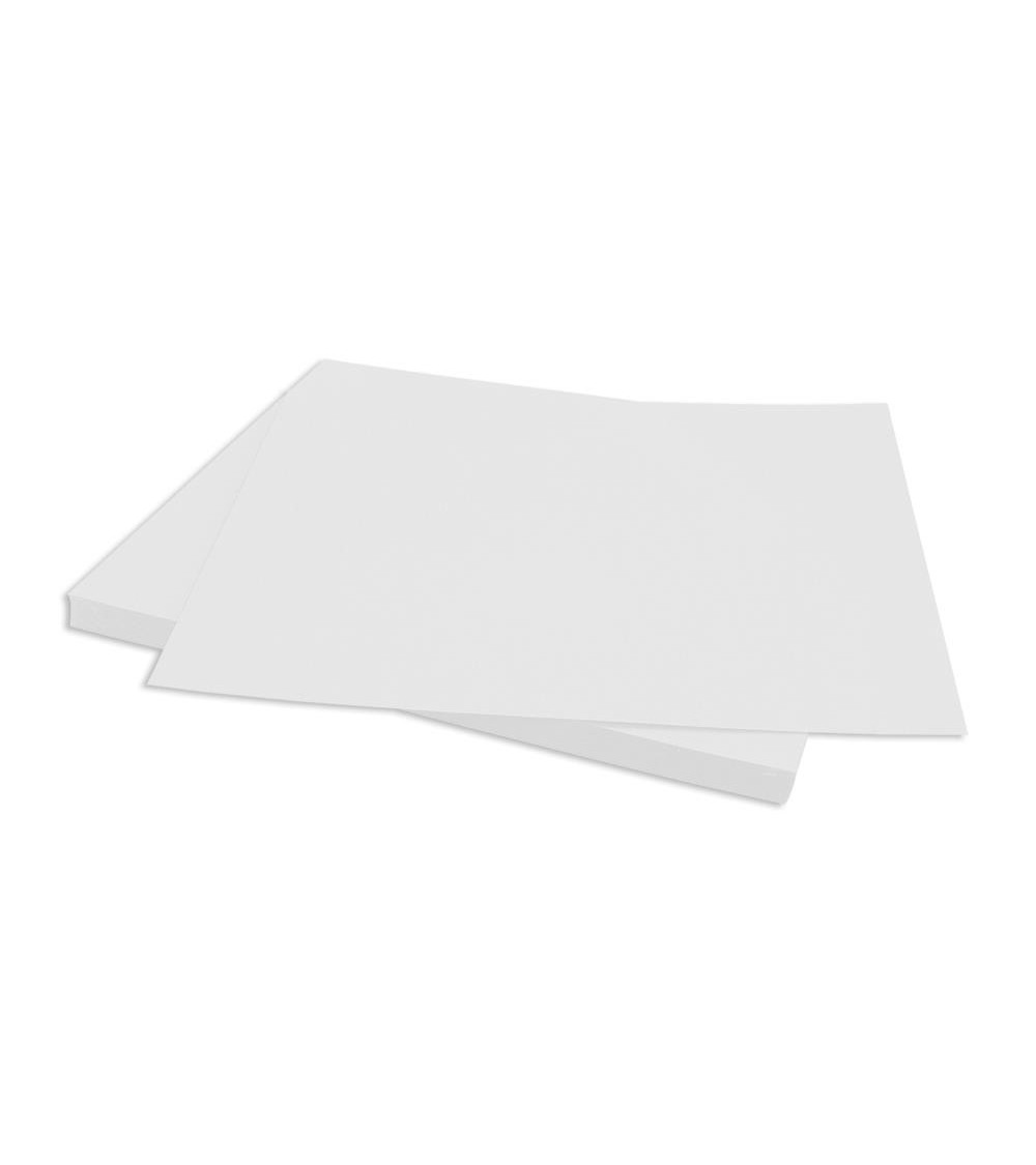 """Bazzill Cardstock - Classic White (Smooth) 12x12"""" (25er Pack)"""