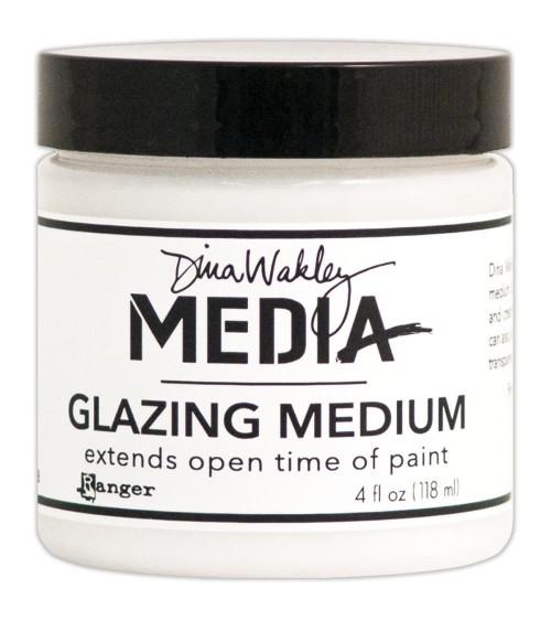 Ranger - Dina Wakley - Glazing Medium (4 oz. Jar)