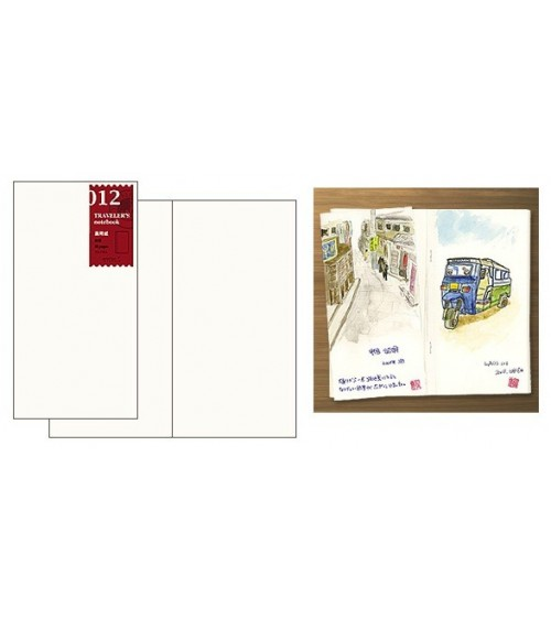 Midori - Traveler's Notebook - 012. Sketch Book Refill