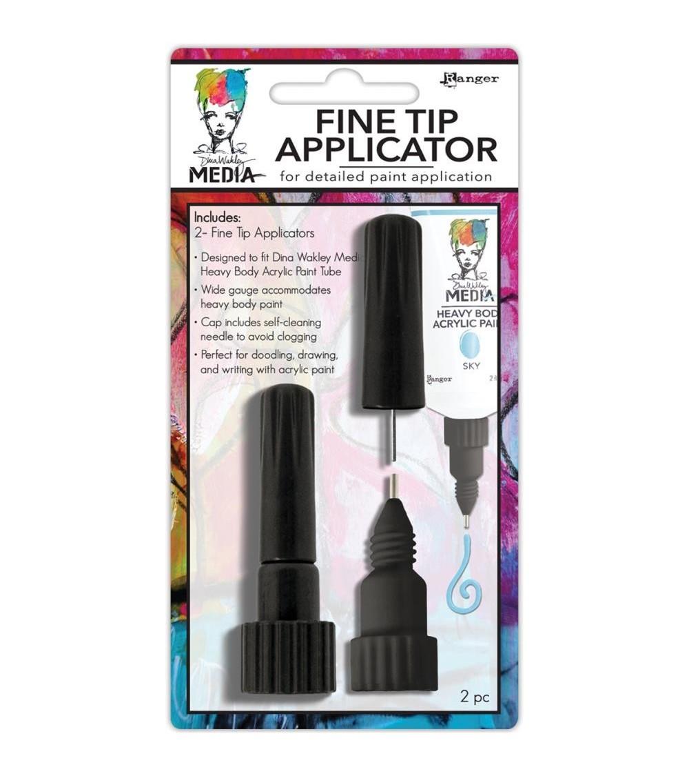 Ranger - Dina Wakley - Fine Tip Applicator (2 Stk.)