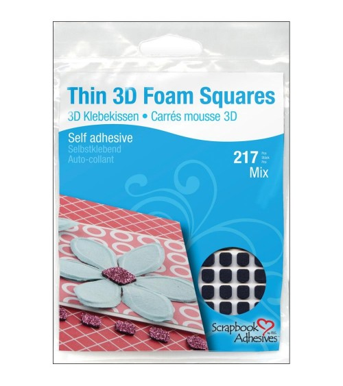 Scrapbook Adhesives - THIN 3D Foam Squares 0