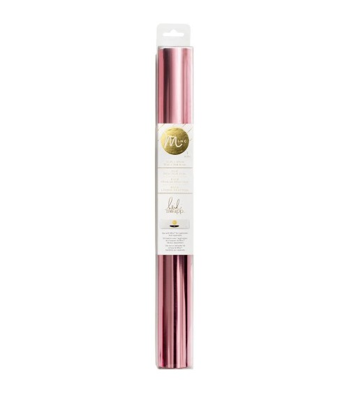 Heidi Swapp – MINC Transfer Foil 31cm x 3m Rolle - Light Pink