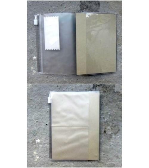 Midori - Traveler's Notebook - Passport Size 004 Card/Zipper Fil