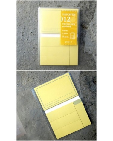 Midori - Traveler's Notebook - Passport Size 012 Sticky Notes