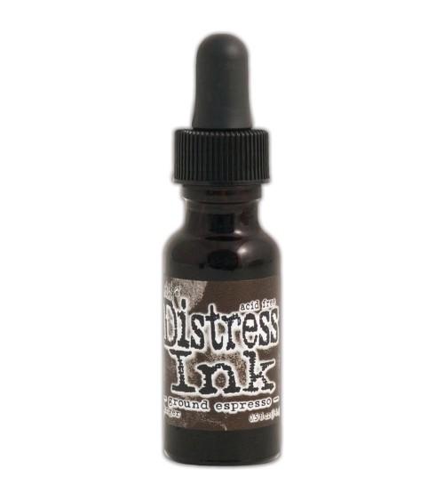 Ranger - Tim Holtz Distress Ink - Re-Inker - Ground Espresso