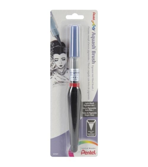 Pentel Aquash Brush / Pigment Ink Black
