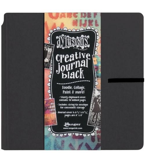 "Ranger - Dyan Reaveley's Dylusions 8x8"" Creative Journal BLACK"