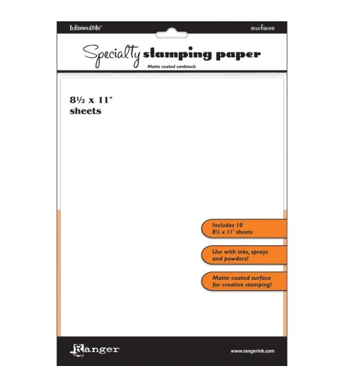 Ranger - Inkssentials Speciality Stamping Paper 8