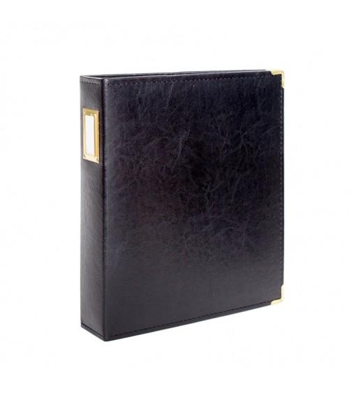 "Studio Calico - Seven Paper - Handbook Album 9x12"" - Black"