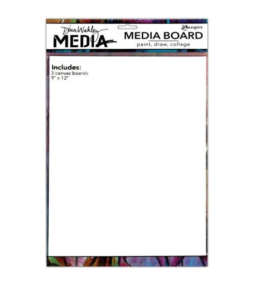 "Ranger - Dina Wakley Media Board 9x12"" (3Stk.)"