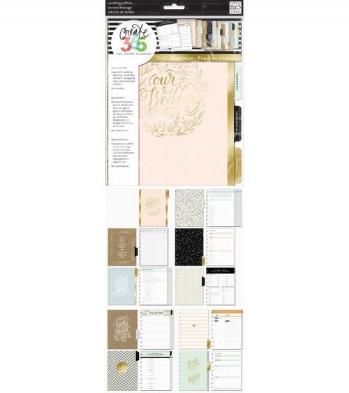 Me & my big Ideas - Create 365 - Planner Wedding Extension Pack