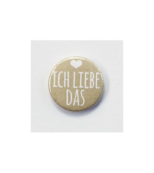 Klartext - Flair Buttons/Badges - ich liebe das