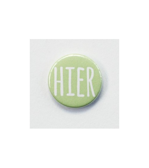 Klartext - Flair Buttons/Badges - Hier