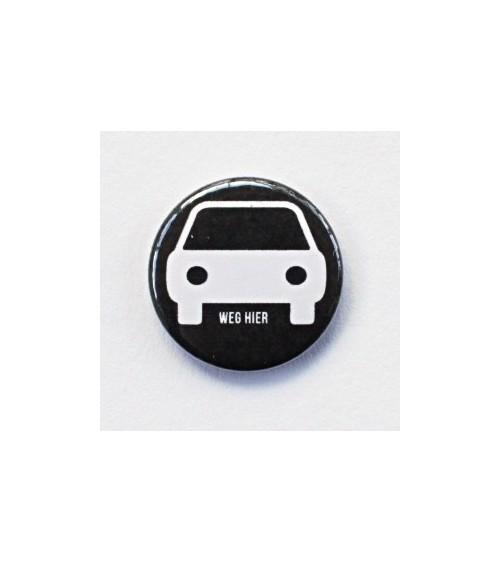 Klartext - Flair Buttons/Badges - weg hier