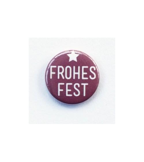 Klartext - Flair Buttons/Badges - Frohes Fest
