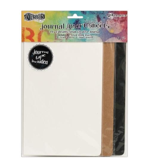 Ranger - Dyan Reaveley's Dylusions Journal - SMALL Inserts Assor