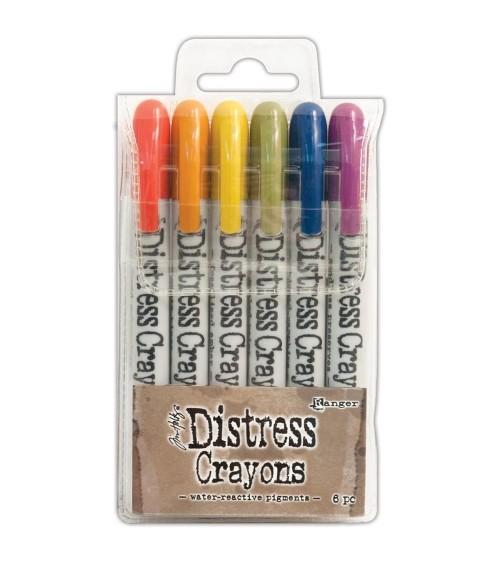 Ranger - Tim Holtz - Distress Crayons Set  2