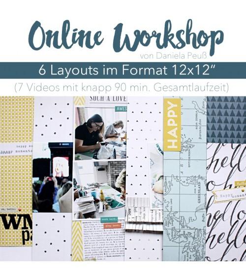 "Online Workshop ""6 Layouts"" mit Dani"