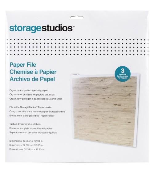 Storage Studios / Cropper Hopper - Paper File (3 Stk.)