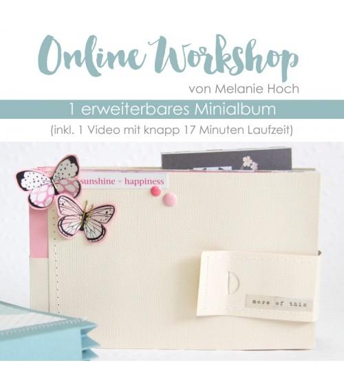 """Online Workshop """"Minialbum mit Mel"""""""