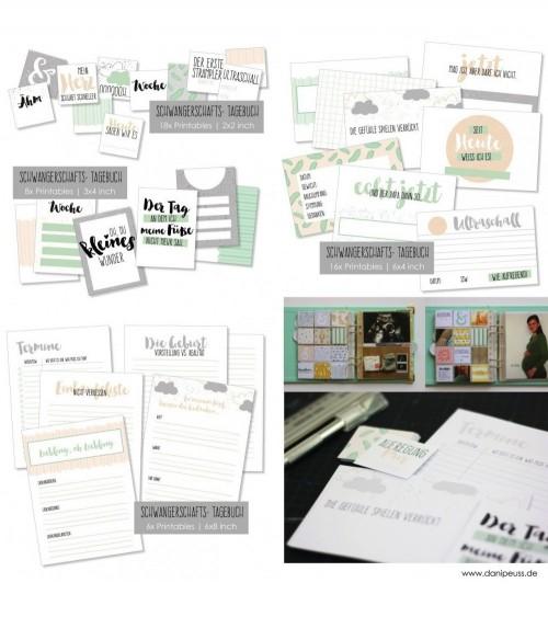 Schwangerschafts-Tagebuch  Printables
