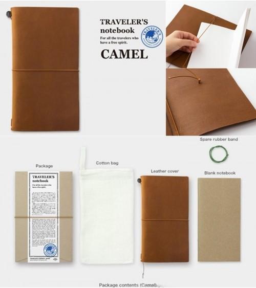 Midori - Traveler's Notebook - Notebook Camel
