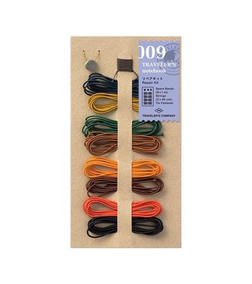 Midori - Traveler's Notebook - 009. Repair Kit 8 Colors