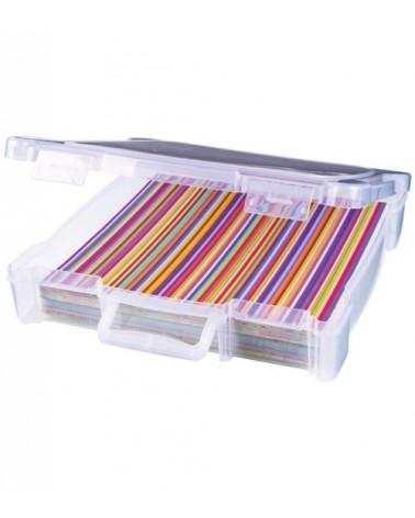 """ArtBin - Essentials Box für 12x12"""" clear (mit Griff)"""