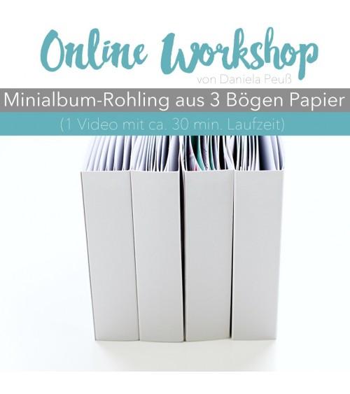 "Online Workshop ""Minialbum-Rohling mit Dani"""