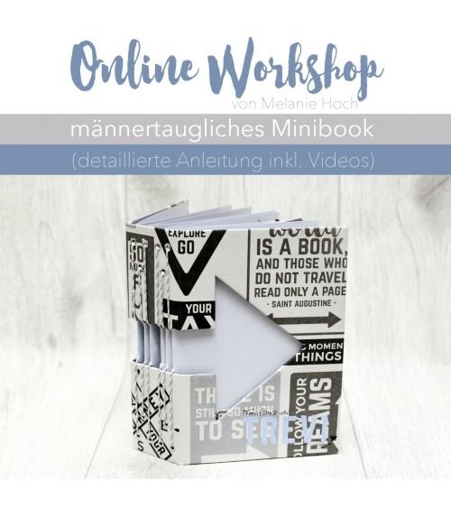 """Online Workshop """"Minibook mit Mel"""""""