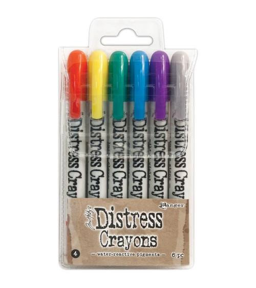 Ranger - Tim Holtz - Distress Crayons Set  4