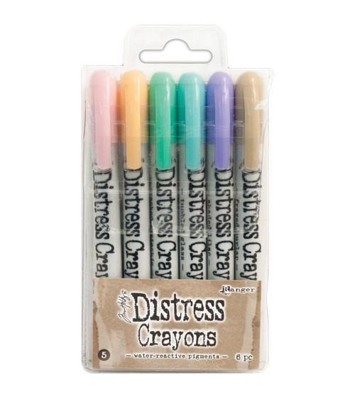 Ranger - Tim Holtz - Distress Crayons Set  5