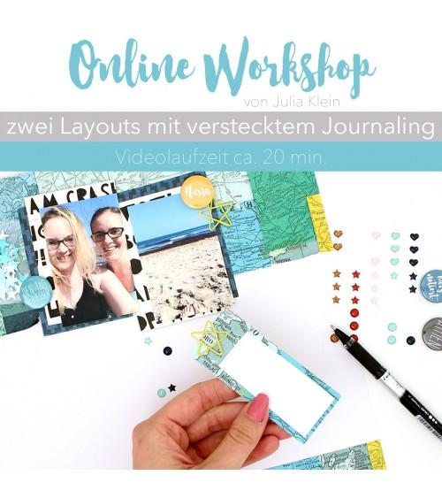 """Online Workshop """"2 Layouts"""" mit Julia"""