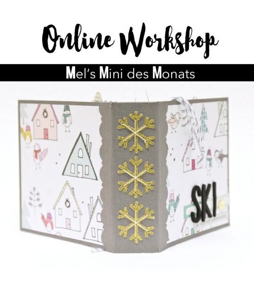 """Online Workshop """"Mel's Mini des Monats""""  Dezember 2016"""