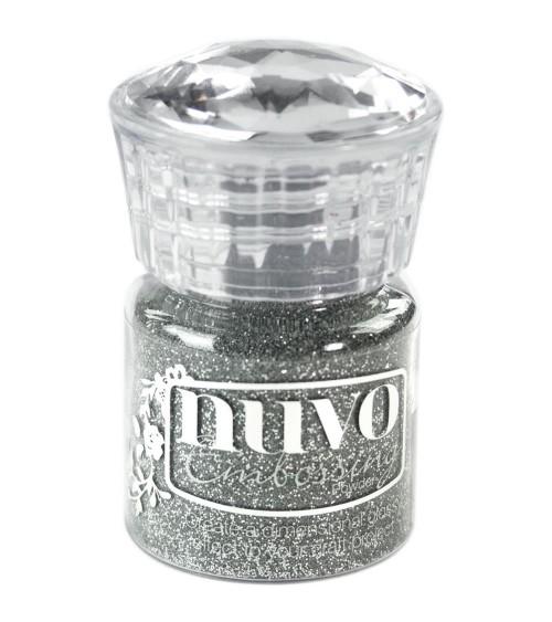 Tonic - Nuvo Embossing Powder - Silver Moonlight (Glitter)