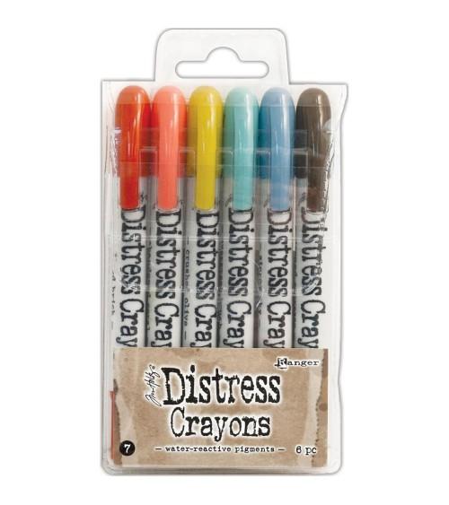 Ranger - Tim Holtz - Distress Crayons Set  7