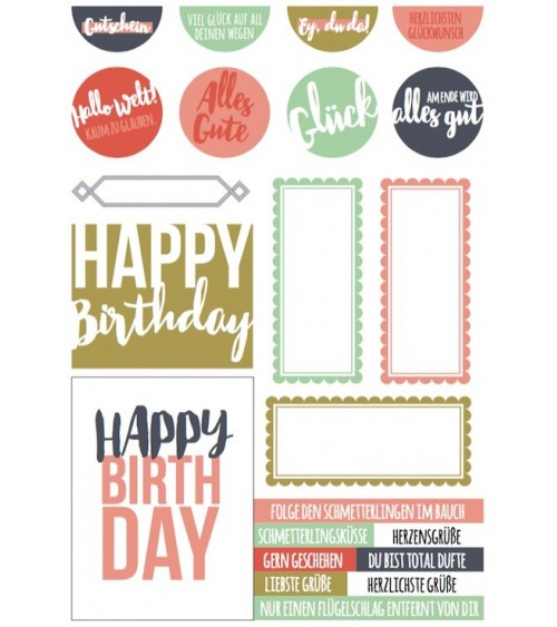 "Printables ""Happy Birthday"""