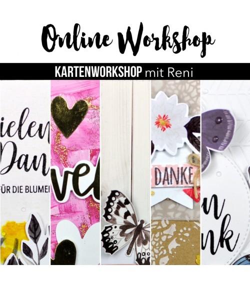 """Karten Online Workshop mit Reni """"Inspirationen finden"""""""