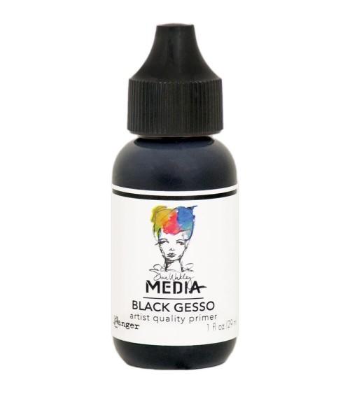 Ranger - Dina Wakley Media - Black Gesso (29 ml Flasche)