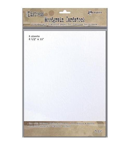 Ranger - Tim Holtz Distress Woodgrain Paper 8