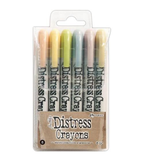Ranger - Tim Holtz - Distress Crayons Set  8