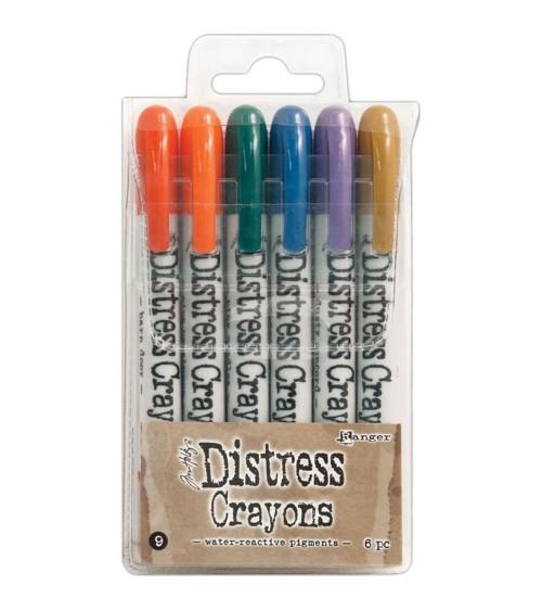 Ranger - Tim Holtz - Distress Crayons Set  9