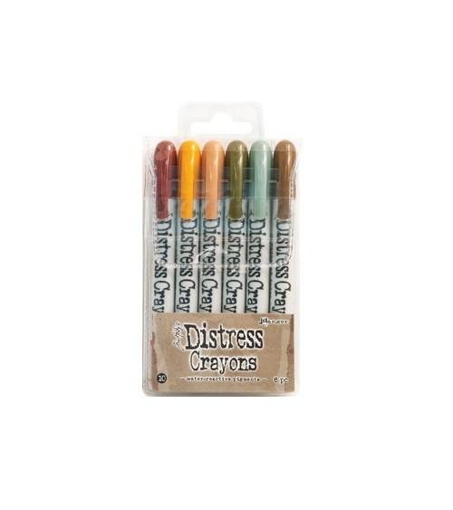 Ranger - Tim Holtz - Distress Crayons Set  10